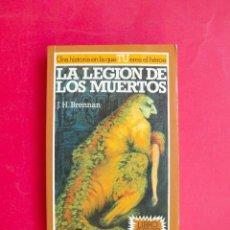 Libros de segunda mano: LA BÚSQUEDA DEL GRIAL Nº 8 - LA LEGIÓN DE LOS MUERTOS - J.H. BRENNAN - ALTEA JUNIOR - LIBRO JUEGO. Lote 95929499