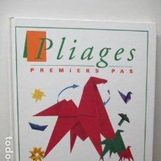 Libros de segunda mano: PLIAGES. : PREMIERS PAS DE DIDIER BOURSIN (EN FRANCES). Lote 95942839