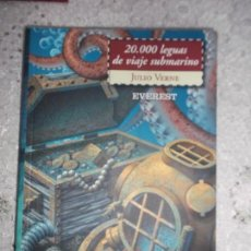 Libros de segunda mano: 20.000 LEGUAS DE VIAJE SUBMARINO JULIO VERNE EVEREST 2006. Lote 95966271
