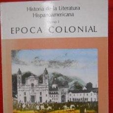 Libros de segunda mano: EPOCA COLONIAL TOMOI. Lote 95983519