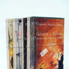 Libros de segunda mano: GARGORIS Y HABIDIS. UNA HISTORIA MÁGICA DE ESPAÑA 4 TOMOS EN ESTUCHE (F SÁNCHEZ DRAGÓ) 1980. Lote 96011916