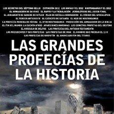 Libros de segunda mano: VV.AA. : LAS GRANDES PROFECÍAS DE LA HISTORIA. Lote 96020715
