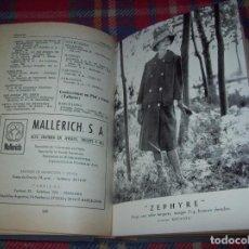 Libros de segunda mano: ANUARIO DE LAS INDUSTRIAS DE LA PIEL , 1960 .MARTÍN CARRIÓ. EDITOR: MANUEL MONGE. TODO UNA JOYA!!!!!. Lote 96065259