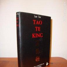 Libros de segunda mano: TAO TE KING - LAO TSE - TRADUCIDO Y COMENTADO POR RICHARD WILHELM - MUY BUEN ESTADO. Lote 96069539