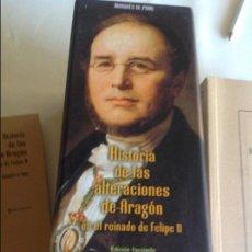 Libros de segunda mano: HISTORIA DE LAS ALTERACIONES DE ARAGON EN EL REINADO DE FELIPE II. MARQUES DE PIDAL. 4 TOMOS. Lote 96098959