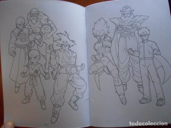 j-04- libro cuaderno para colorear dragon ball. - Comprar en ...
