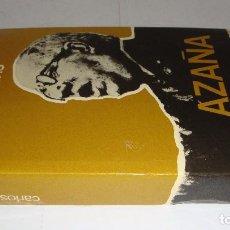 Libros de segunda mano: AZAÑA. CARLOS ROJA.. Lote 96102619