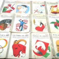 Libros de segunda mano: LOTE 12 LITERARIAS REVISTAS NOVELAS Y CUENTOS . Lote 96110163