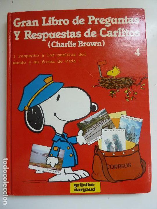 GRAN LIBRO DE PREGUNTAS Y RESPUESTAS DE CARLITOS. Nº 4 (Libros de Segunda Mano - Literatura Infantil y Juvenil - Otros)