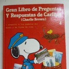 Libros de segunda mano: GRAN LIBRO DE PREGUNTAS Y RESPUESTAS DE CARLITOS. Nº 4. Lote 96153251