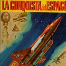 Libros de segunda mano: LA CONQUISTA DEL ESPACIO - PULGARCITO CULTURAL BRUGUERA, 1971 - GRAN FORMATO. Lote 96161467
