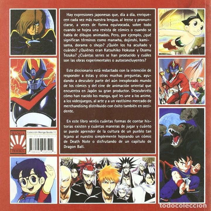Libros de segunda mano: Diccionario de manga. Tomo 1 (Manga Books) - Foto 2 - 96162947