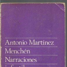 Libros de segunda mano: ANTONIO MARTINEZ MENCHEN. NARRACIONES INFANTILES Y CAMBIO SOCIAL. TAURUS. Lote 96165083
