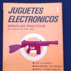 Libros de segunda mano: LIBRO SOBRE JUGUETES ELECTRÓNICOS 1, DE LOS AÑOS 70.. Lote 96264251