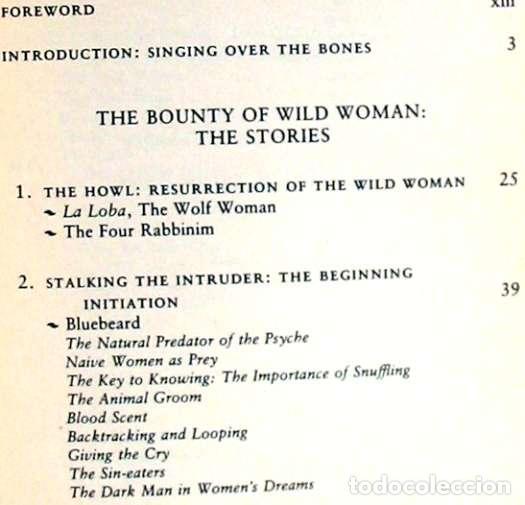 Libros de segunda mano: WOMEN WHO RUN WITH THE WOLVES - CLARISSA PINKOLA ESTÉS 1996 - VER INDICE - Foto 3 - 96368275