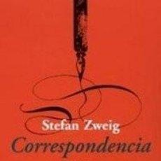 Libros de segunda mano: CORRESPONDENCIA CON SIGMUND FREUD, RAINER MARIA RILKE Y ARTHUR SCHNITZLER - STEFAN ZWEIG. Lote 96388411