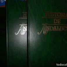 Libros de segunda mano: HISTORIA DE ANDALUCÍA, 3 TOMOS, MANUEL MORENO ALONSO, ED. CAJASUR. Lote 96389667