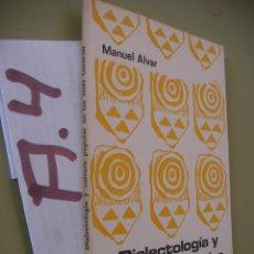 Libros de segunda mano: DIALECTOLOGIA Y CULTURA POPULAR EN LAS ISLAS CANARIAS. Lote 96389815