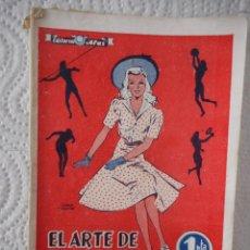Libros de segunda mano: EL ARTE DE CONSERVAR LA LÍNEA. EDITORIAL ALAS. 32 PÁGINAS. 1946. Lote 96403671