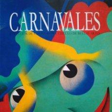 Libros de segunda mano: CARNAVALES. COLECCIÓN DE CARTELES DEL CÍRCULO DE BELLAS ARTES. Lote 96419135