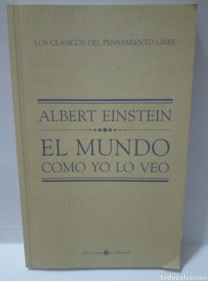 EL MUNDO COMO YO LO VEO . ALBERT EINSTEIN (Libros de Segunda Mano - Ciencias, Manuales y Oficios - Otros)