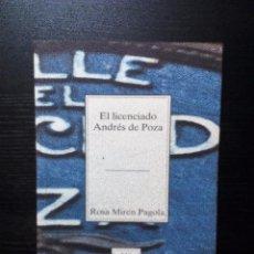 Libros de segunda mano: EL LICENCIADO ANDRÉS DE POZA ROSA MIREN PAGOLA TEMAS VIZCAÍNOS. Lote 96480023