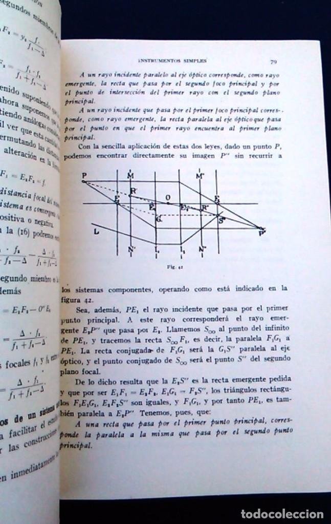 Libros de segunda mano: Tratado de topografía. Claudio Pasini. Editorial Gustavo Gil, S.A. Barcelona, 1960. Libro. C. - Foto 4 - 96484891