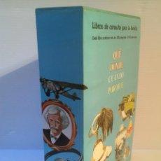 Libros de segunda mano: ENCICLOPEDIA. QUÉ, DÓNDE, CUANDO, PORQUÉ. ANTHONY ADDISON. EDITORIAL MOLINO, 1980. NUEVO. Lote 96544727