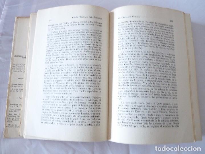 Libros de segunda mano: VISION TEORICA DEL ECUADOR POR G. CEVALLOS GARCIA ECUADOR 1960 - Foto 5 - 96694203