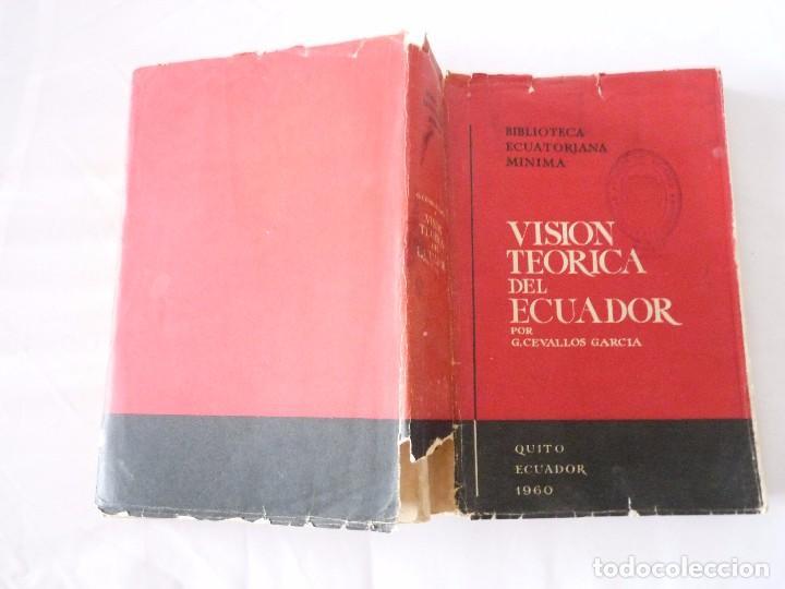 Libros de segunda mano: VISION TEORICA DEL ECUADOR POR G. CEVALLOS GARCIA ECUADOR 1960 - Foto 6 - 96694203