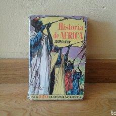 Libros de segunda mano: HISTORIA DE ÁFRICA -JOSEPH LACIER. Lote 96764936