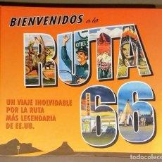 Libros de segunda mano: BIENVENIDOS A LA RUTA 66. VIAJE POR LA RUTA MÁS LEGENDARIA DE ESTADOS UNIDOS. GRIJALBO. 2011. Lote 111806932