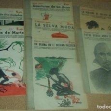 Libros de segunda mano: LOTE DE 7 REVISTAS LITERARIAS AÑOS 40 - VER RELACIÓN. Lote 96827099