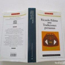 Libros de segunda mano: RICARDO PALMA. TRADICIONES PERUANAS. RM82800. . Lote 96918995