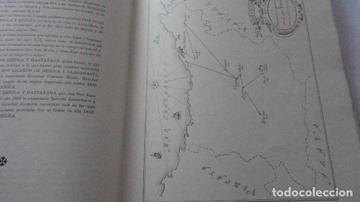 Libros de segunda mano: AMADEO DELAUNET ESNAOLA.HISTORIA GENEALOGICA CASA SOLAR DE REZOLA.1480-1949. SAN SEBASTIAN 1949. - Foto 12 - 96934391