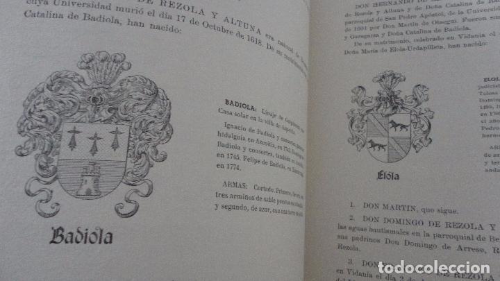 Libros de segunda mano: AMADEO DELAUNET ESNAOLA.HISTORIA GENEALOGICA CASA SOLAR DE REZOLA.1480-1949. SAN SEBASTIAN 1949. - Foto 17 - 96934391