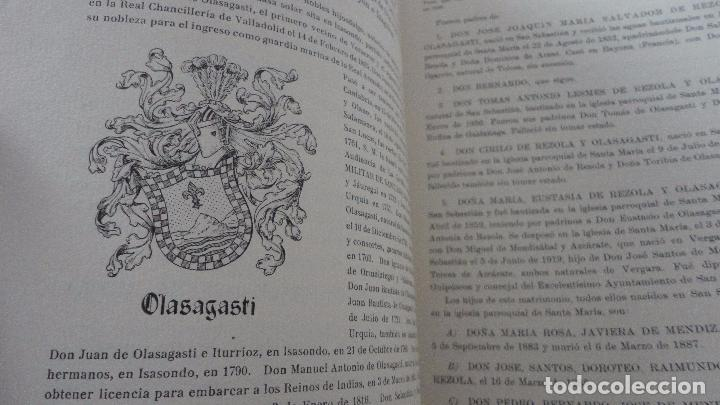 Libros de segunda mano: AMADEO DELAUNET ESNAOLA.HISTORIA GENEALOGICA CASA SOLAR DE REZOLA.1480-1949. SAN SEBASTIAN 1949. - Foto 18 - 96934391