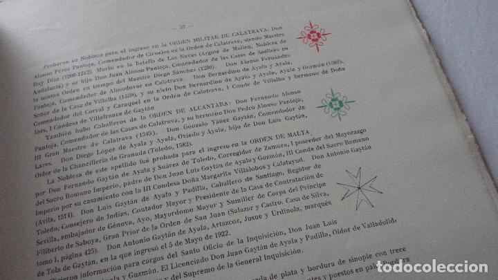 Libros de segunda mano: AMADEO DELAUNET ESNAOLA.HISTORIA GENEALOGICA CASA SOLAR DE REZOLA.1480-1949. SAN SEBASTIAN 1949. - Foto 21 - 96934391