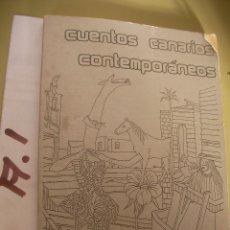 Libros de segunda mano: CUENTOS CANARIOS CONTEMPORANEOS. Lote 96940467