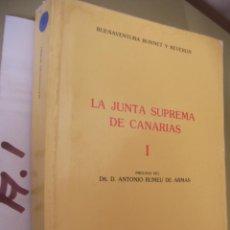 Libros de segunda mano: LA JUNTA SUPREMA DE CANARIAS . Lote 96940859