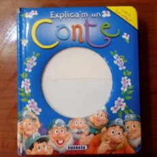 Libros de segunda mano: EXPLICA'M UN CONTE: BAMBI, LA CAPUTXETA VERMELLA, BLANCANEU I LA CASETA DE XOCOLATA.. Lote 96954311