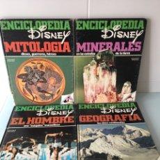 Libros de segunda mano: ENCICLOPEDIA DISNEY - 4 TOMOS 1982. Lote 96957494