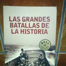 Libros de segunda mano: LAS GRANDES BATALLAS DE LA HISTORIA. Lote 96957867