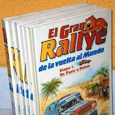 Libros de segunda mano: EL GRAN RALLYE DE LA VUELTA AL MUNDO 8T POR JOSEFINA GÓMEZ DE ED. MULTILIBRO EN BARCELONA 1988. Lote 96962615