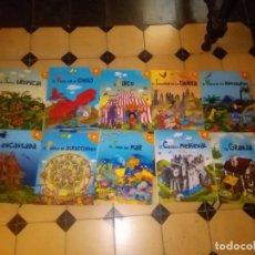 Libros de segunda mano: VIVE UNA AVENTURA EL BARCO PIRATA. 10 LIBROS POP-UP COMPLETOS VER FOTOS LIBROS PARA JUGAR . Lote 96992819
