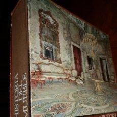 Libros de segunda mano: HISTORIA DEL MUEBLE,LUIS FEDUCHI.1966,EDIT.ABANTOS.849 PP. 27X25,ESTUCHE,TELA,FOTOGRAFIAS.. Lote 139832700