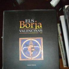 Libros de segunda mano: ELS BORJA VALENCIANS. Lote 97033735