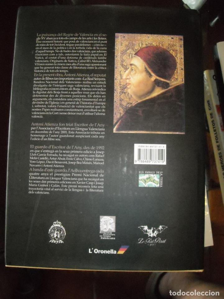 Libros de segunda mano: ELS BORJA VALENCIANS - Foto 3 - 97033735