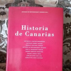 Libros de segunda mano: HISTORIA DE CANARIAS, DE ANTONIO DE BETHENCOURT (ED.). CABILDO DE GRAN CANARIA, 1995. ILUSTRADO.. Lote 215587395
