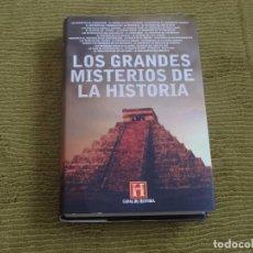 Libros de segunda mano: LOS GRANDES MISTERIOS DE LA HISTORIA (PLAZA Y JANÉS) - CANAL HISTORIA - TAPA DURA. Lote 117319539
